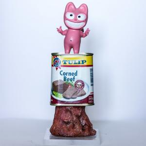 « Chat Rose Corned Beef » de Taburchi