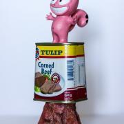 """Chat Rose Corned Beef"" de Taburchi"