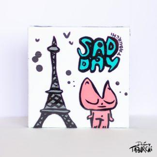 Une toile pour Paris suite aux attentats de novembre