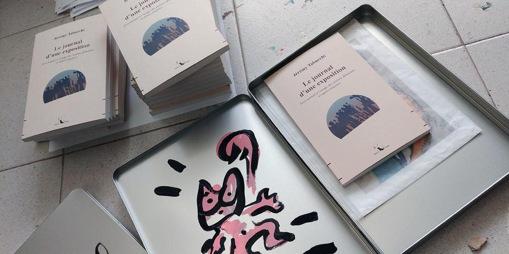 Boites Journal d'une exposition