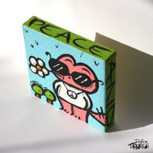 Chat Rose hippie de Taburchi