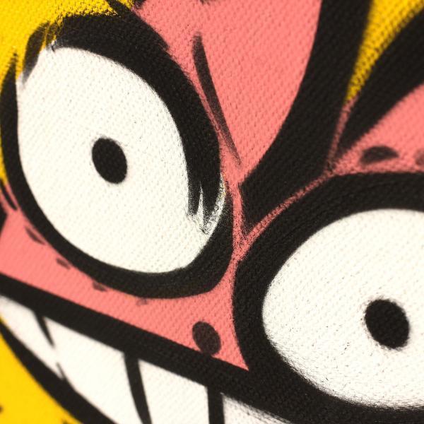 Pochoir du Chat Rose façon street-art