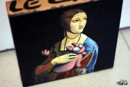 La Dame à l'hermine de Léonard de Vinci revisitée