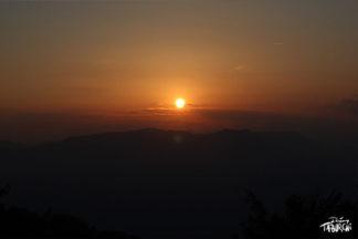 photographie soleil couchant
