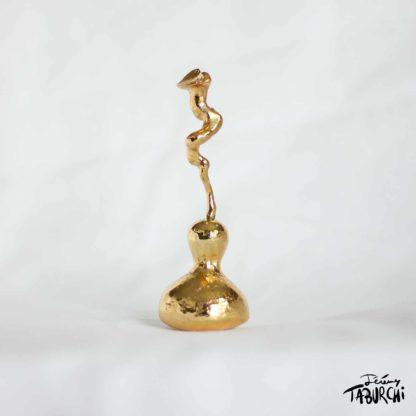 Cougourdes 3D métal or
