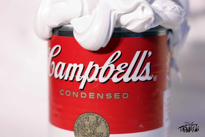 """""""Happy"""" Campbells'Soup du Chat Rose"""