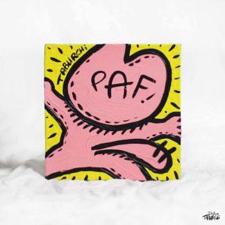 Et Paf ! une toile de Jérémy Taburchi