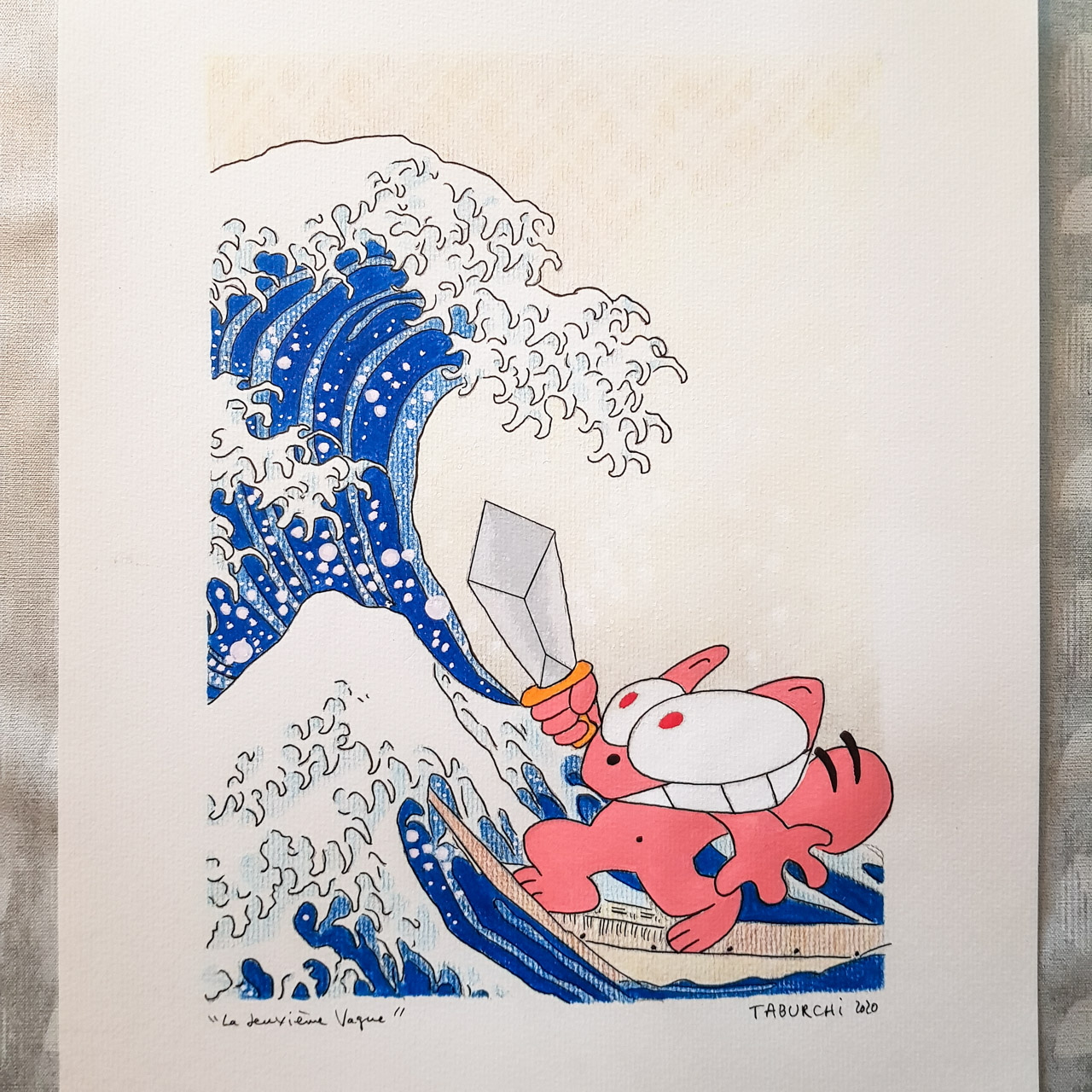 dessin-la-vague-hokusai